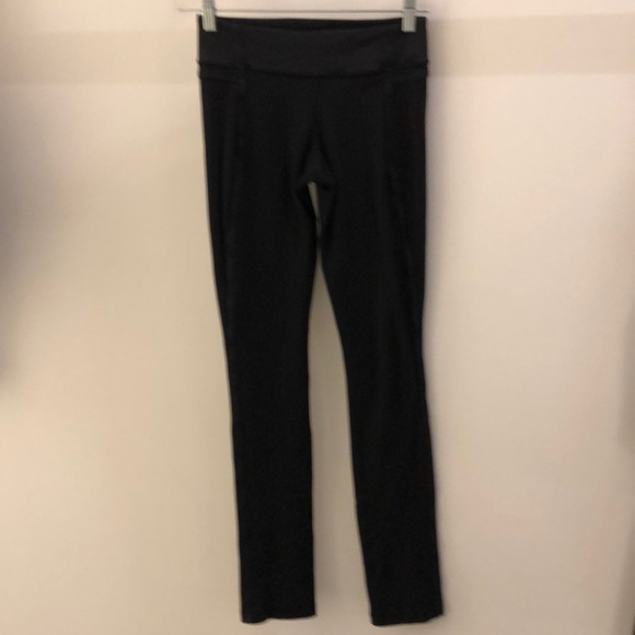 lululemon athletica Pants - Lululemon black legging, sz 4, 66977